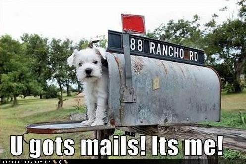 Mailbox Monday